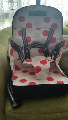 Polar Gear Baby Travel Baby Booster Seat, Travel High Chair, 5 Point Harness