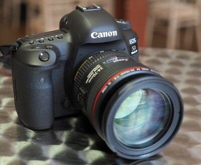 Canon EOS 5D Mark IV 30.4MP Digital SLR Camera - Black (with EF 24-70mm f/4L IS