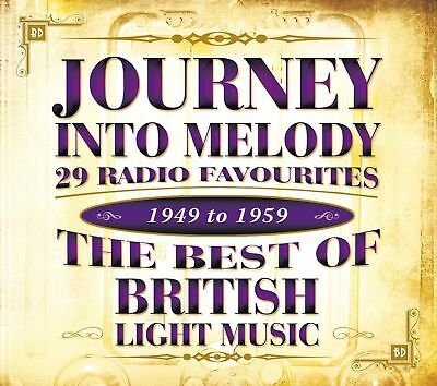 Various Artists - Journey Into Melody - The Best of British Light Music CD