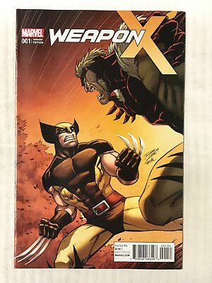 Weapon X #1 - 1:15 Variant! VF - Ron Lim Cover!
