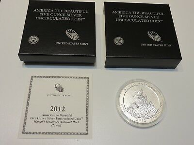 2012 Hawaii Volcanoes (Hawaii) America the Beautiful 5oz. Collector Coin