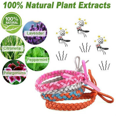 Repellent Wristband Insect Repellent Bands Mosquito Killer Camping Handmade