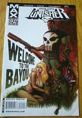 The PUNISHER Frank Castle Max # 71 COMIC August 2009 MARVEL Welcome To The Bayou