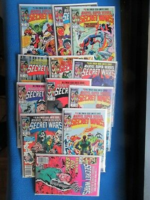 Marvel Super-Heroes # 1 - 12 - (Nm) -High Grade Complete Set- (8)-1St Black Suit