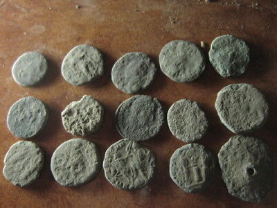 Ancient roman coins lot 24