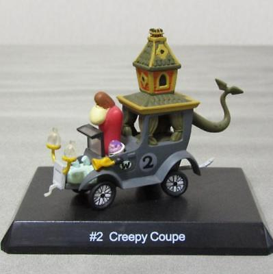 Wacky Races No.2 Creepy Coupe Hanna Barbera Konami Vintage Rare Japan NEW