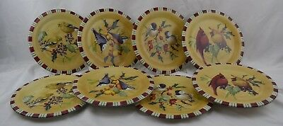 Lenox Winter Greetings Everyday Birds Oven to Table Set 8 Salad Plates