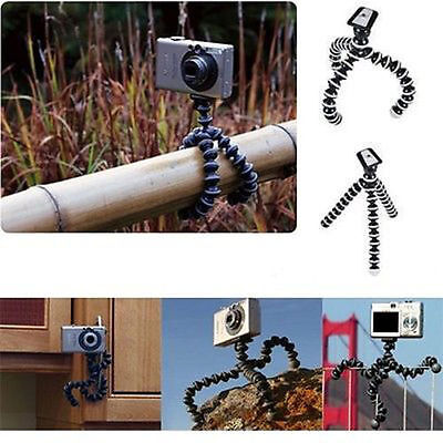 Flexible Tripod Bubble Octopus Stand For 1/4'' Screw Camera/SLR Sony Action Cam
