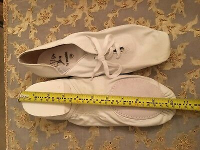 BRAND NEW CAPEZIO (the dancemaker)Jazz Dance Shoes Leather Child to Adult D3 10M