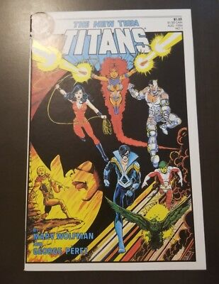 The New Teen Titans #1 (1984) NM HIGH GRADE 🔥GLOSSY 🔥KEY NEVER READ PEREZ