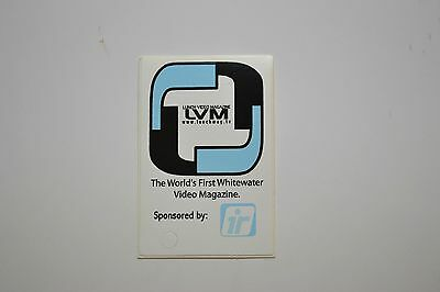 Lunch Video Magazine Sticker - kayaks water sports canoe paddle river whitewater