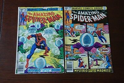 Amazing Spider-Man 198 & 199 lot of 2 Bronze Age comics featuring Mysterio!