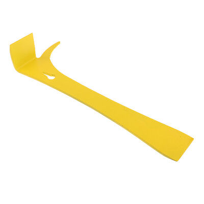 Stainless Steel Bee Hive Claw Scraper Beekeeping Tool Pry Equipment -Yellow