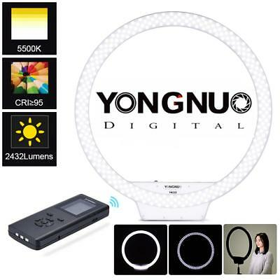"YONGNUO YN308 21"" 3200-5500K Dimmable Photography Studio LED Ring Light Lighting"