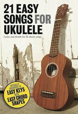 *SaLE* 21 EASY SONGS FOR UKULELE SONG BOOK BRAND NEW UKE SONGBOOK COMPACT -GIFT!