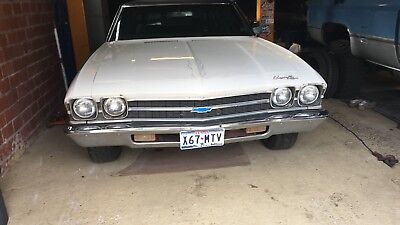 1969 Chevrolet Chevelle Musclecar US-Car 5,7 V8 Chevy SBC