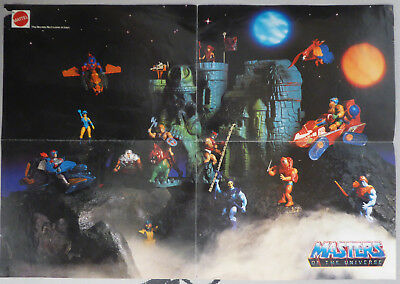 "He-Man - Masters of the Universe - Story Poster Mattel - Very Rare - 16"" x 12"""