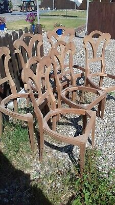 Set of 6 biedermeier style Chairs