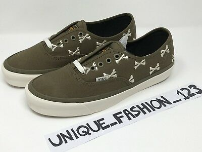 11533d6d43 Vans Wtaps Bones Og Authentic Low Lx Us 8 Uk 7 40.5 Olive Green Whisp Vault