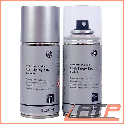 Vw Lack-Spray Set Reflexsilber Metallic La7W Lackspray Basislack Klarlack