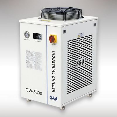 S&A CW-5300DI Industrial Water Chiller 110V 60HZ for CO2 laser / CNC Spindle