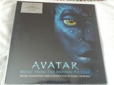 Avatar Blue Vinyl LP Soundtrack Ltd. to 5000 copies New and Sealed