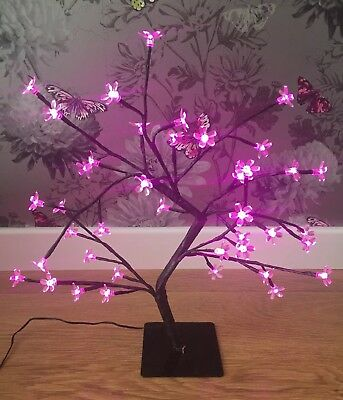 Cherry Blossom Led Tree Indoor/outdoor Pink