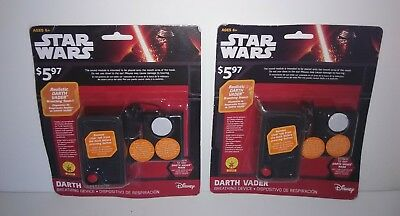 Star Wars Darth Vader Breathing Device Lot of 2 Free Shipping New