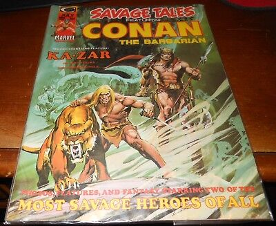 Savage Tales Featuring Conan The Barbarian #5 July 1974