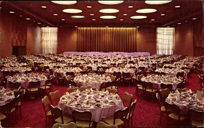 Ak Washington DC USA, Blick in das Olympic Western Hotel, Speisesaal - 1794239
