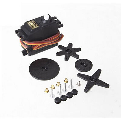 SG5010 RC Model Standard Servo Set 2 Bearing Lightweight for Airplane Car tall