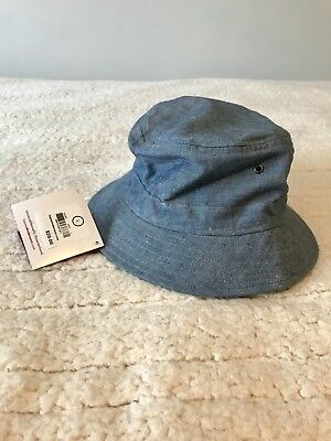 Hanna Andersson Boys Size Large Bucket Hat NewW/Tags Chambray!!!