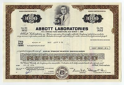 Abbott Laboratories Bond