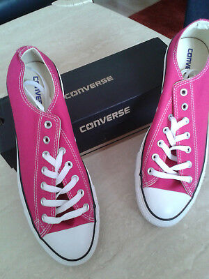 4 x PARRE , CONVERSE, CHUCKS ALL STAR,  N E U,  ROSA, GR. 45,