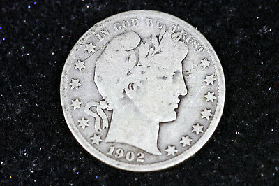Estate  Find  1902 O Barber Half Dollar  #D11897