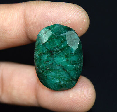 45.20  Cts.  African  Emerald  Oval  Cut Loose Gemstones For Ring & Pendant