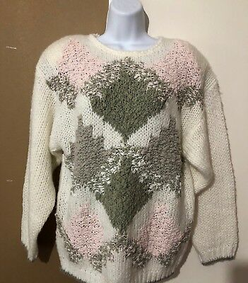 COLLEEN'S COLLECTABLE SHORT Sleeve Top Sweater Knittted by Hand