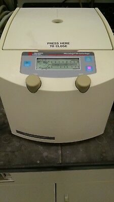 Beckman Coulter Microfuge 18 w/ Rotor & Lid Working Microcentrifuge, Beautiful!