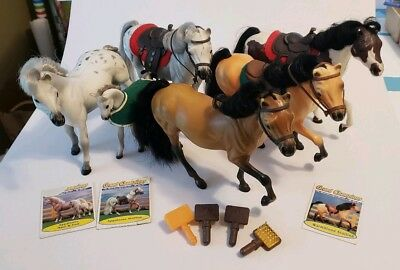 Vintage, Grand Champions, Collectible Toy Horses, Set of 6, 1990