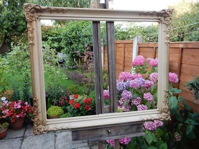 """old picture frame LARGE fits a 28"""" X  22 INCH painting"""