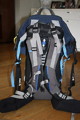 littlelife Cross Country Baby Carrier/Backpack with carry case and sun hood