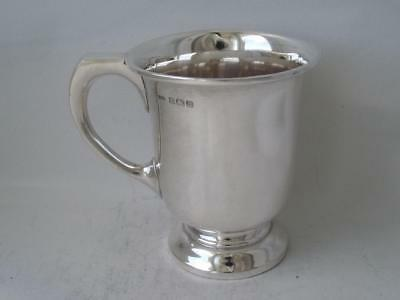 Solid Sterling Silver Cup/ Mug 1940/ H 8.3 cm/ 107 g