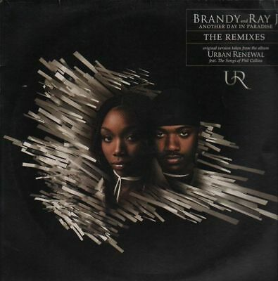 Brandy Another Day In Paradise (The Remixes) Vinyl Single 12inch WEA