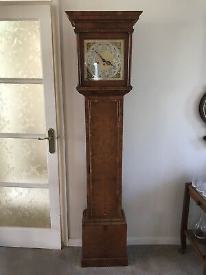 Small Proportioned Grandfather/grandmother Westminster Chime Clock Post 1900