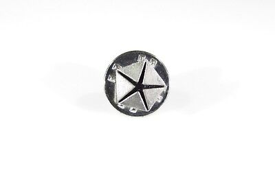 Silver Tone Pin with Chrysler Plymouth Dodge MOPAR Pentastar