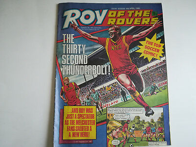 Roy of the Rovers 4th April 1987.  Bruce Rioch the mastermind at  Middlesbrough