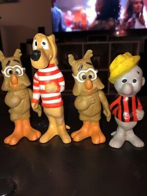 WALT KELLY POGO POSSUM VINYL FIGURE LOT OF Four Beau Regard Hound And Owl