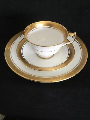 Aynsley ARGOSY Cup & Saucer With Bread Plate (1550).