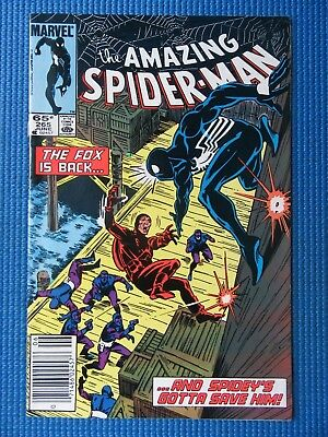 Amazing Spider-Man # 265 - (Fn/vf) - 1St Appearance Of The Silver Sable