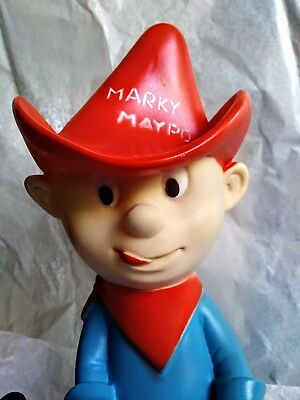 MARKY MAYPO vintage cereal advertising figure bank